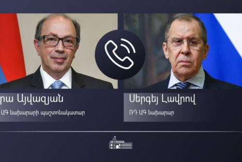 Armenian FM emphasizes inadmissibility of encroachments on Armenian territory talking with  Lavrov