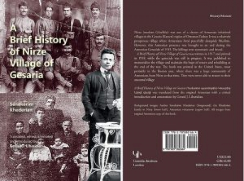 Nirze Village of Gesaria Brought Alive – A Milestone in Armenian Historiography Presented by Gerard J. Libaridian
