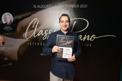 Russian pianists Miroslav Kultishev and Viktor Maslov are winners of 2nd Classic Piano International Piano Competition