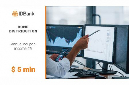 IDBank prematurely finished the placement of the second tranche of bonds of 2021