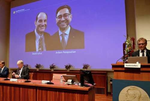 2021 Nobel Prize in physiology and medicine awarded to David Julius and Ardem Patapoutian