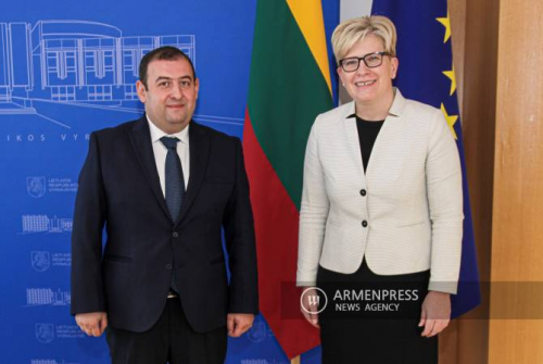 Elections in Armenia showed people's trust in democracy: ARMENPRESS Exclusive with  Lithuanian Prime Minister