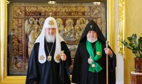Armenian, Russian Religious Leaders Meet in Moscow