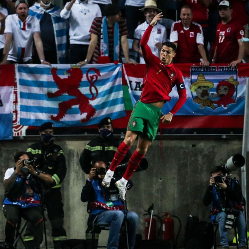 Ronaldo scores 115th goal, 10th hat-trick for Portugal