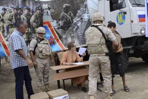 Russia sends 10 tons of humanitarian to Artsakh