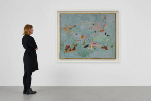 Unknown painting of Arshile Gorky found in New York