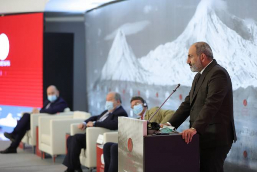 Pashinyan hopes Armenian Summit of Minds will become certain platform for modeling  economy, geopolitics