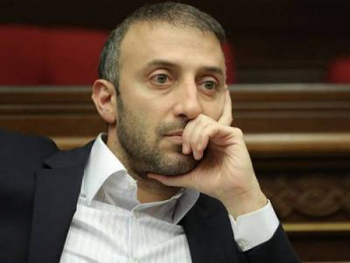 Opposition 'Armenia' Faction MP submits petition to give up his parliamentary seat